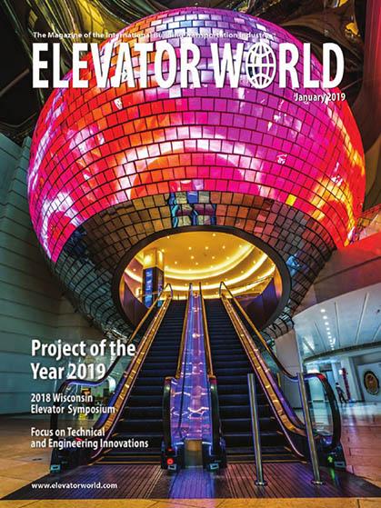 Журнал Elevator World_